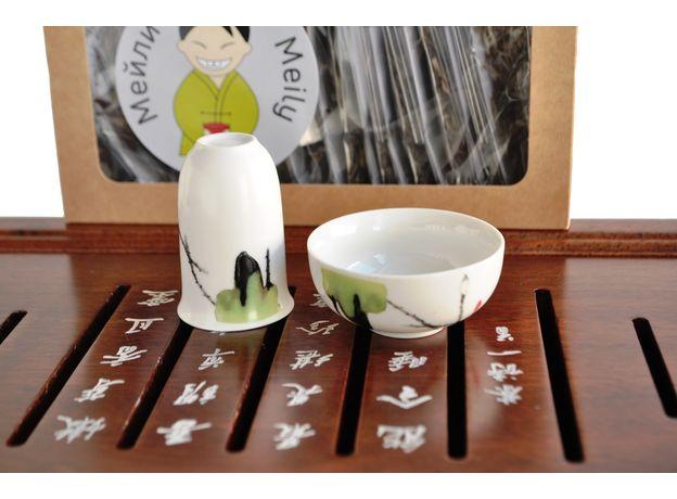 Журавли - Набор посуды для чайной церемонии, изображение 5