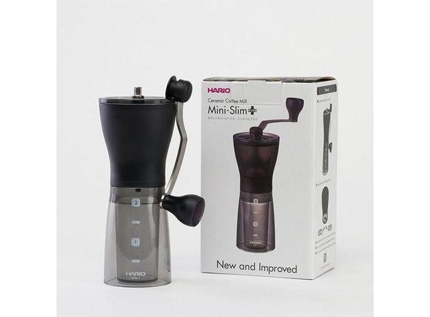 Кофемолка ручная Hario MSS-1DTB Mini-Slim plus, изображение 2