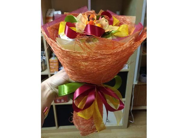 Букет из чая - Осенний цветок - Подарочный набор чайный букет, изображение 2