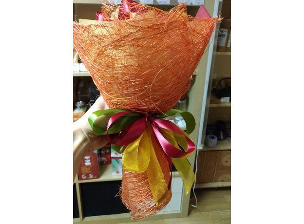 Букет из чая - Осенний цветок - Подарочный набор чайный букет, изображение 4
