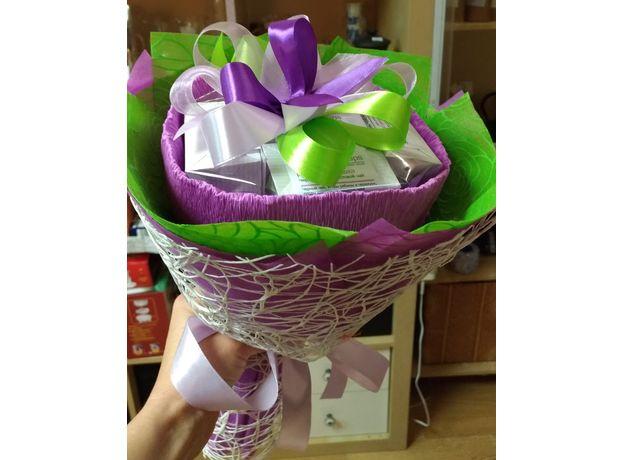 Букет из чая - Ирис - Подарочный набор чайный букет, изображение 5