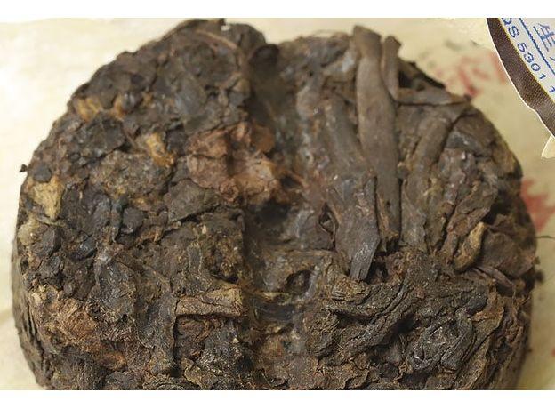 Прессованный Шу Пуэр Мини То Ча Монетка черносливовая  50 гр, изображение 2