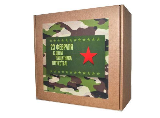 Подарочный набор к 23 февраля - чай и баночки для хранения, изображение 2