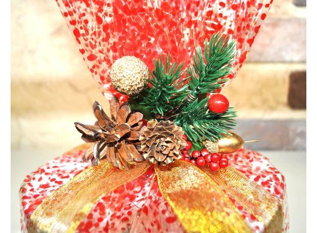Торт Новогоднее панфорте - Подарочный набор из чая, изображение 2