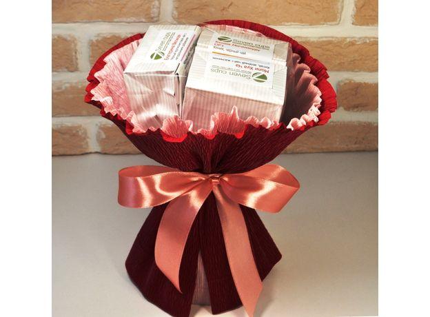 Букет из чая - Лютик  - Подарочный набор чайный букет, изображение 2