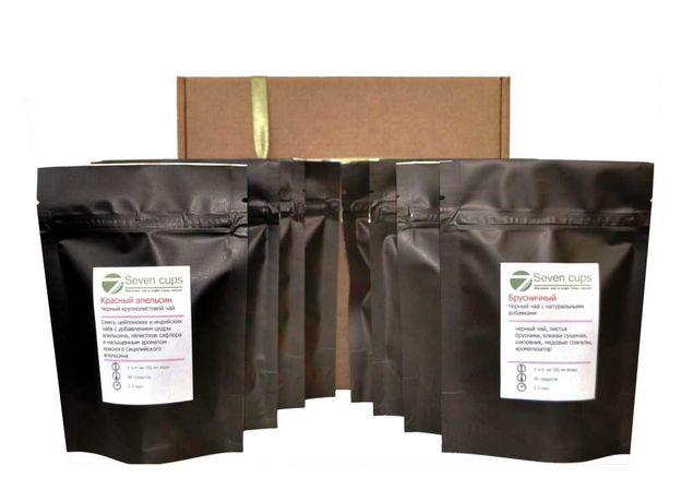 Чайный набор Мэри - Коллекция чая 8 вкусов, изображение 2