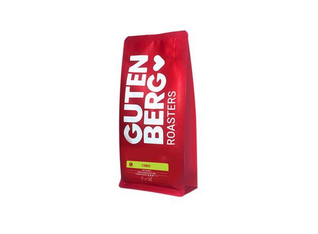 Глясе, Gutenberg 250 гр - Кофе ароматный, мелкий помол