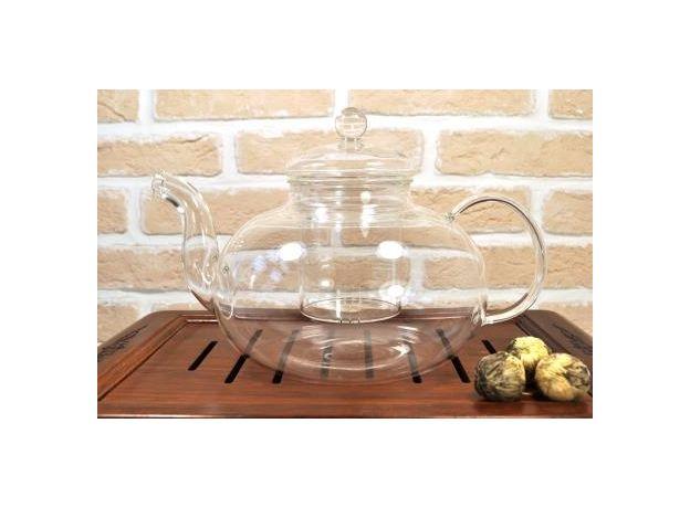 Чайник стеклянный Смородина с заварочной колбой 1500 мл