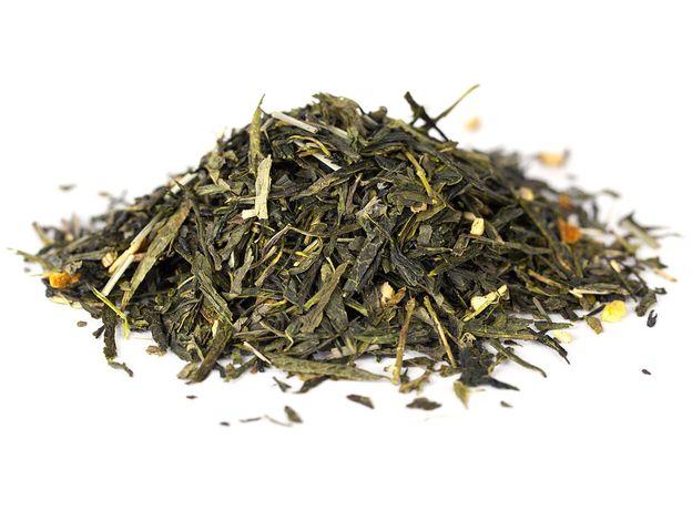 С имбирем и лимоном 100 гр - Зеленый чай с добавками